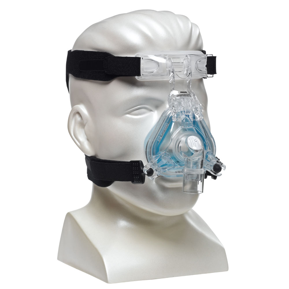 ComfortGel Blue Nasal Mask w/ Headgear