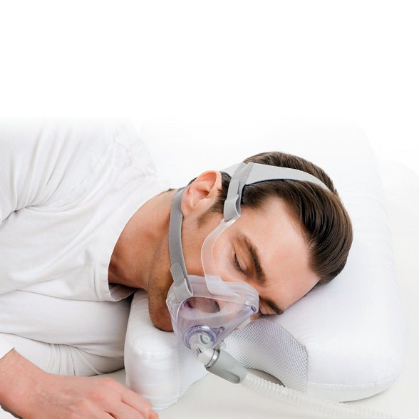 Memory Foam CPAP Pillow with Herbal Infusion
