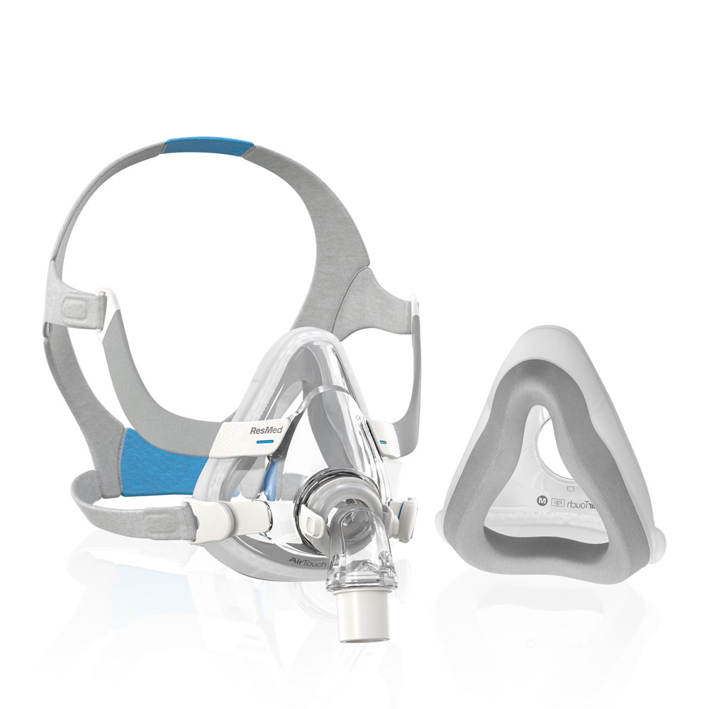 AirTouch™ F20 Full Face CPAP & BiLevel Mask with Plush Headgear
